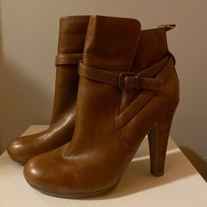 Aldo Brown Boots w/ heel